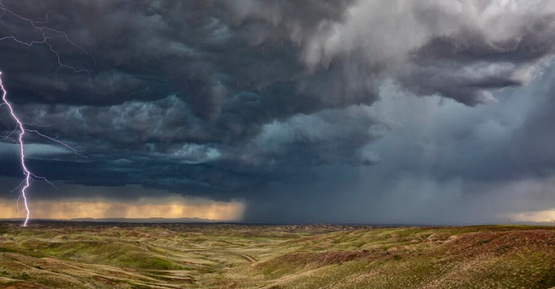 Storm Chasing Tour USA Incredible storm approaching
