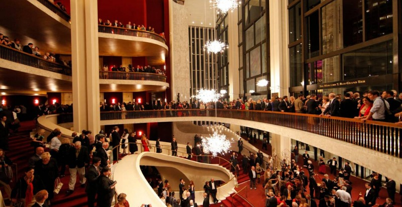 Opening night at the Metropolitan Opera