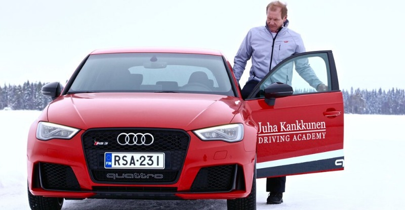 Learn to Rally Drive with ex-World Champ in Finland