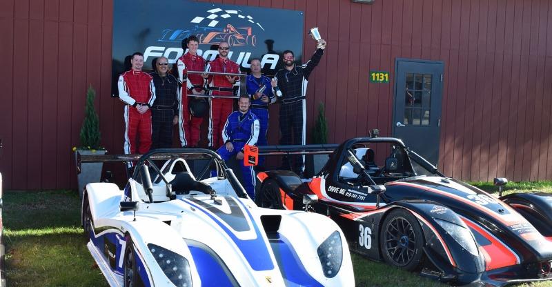 Formula Race Car Experiences team photo
