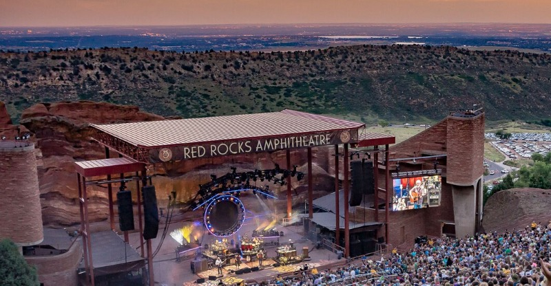 Red Rocks Amphitheatre Music and Film on the Rocks