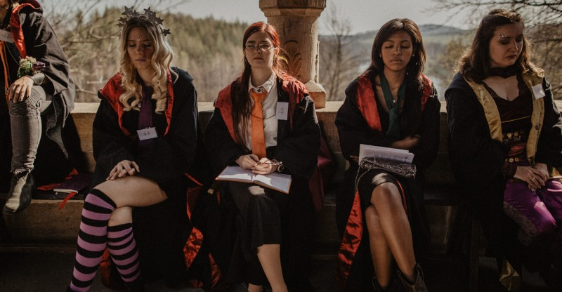 Hogwarts of Wizardry School pupils