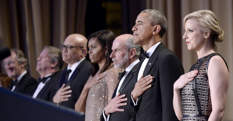 Top political officials at the White House Correspondents' Dinner