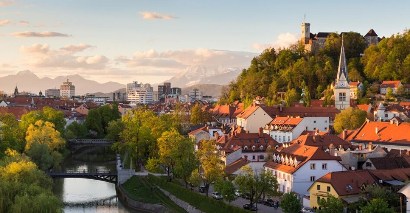 Slovenia's beautiful towns