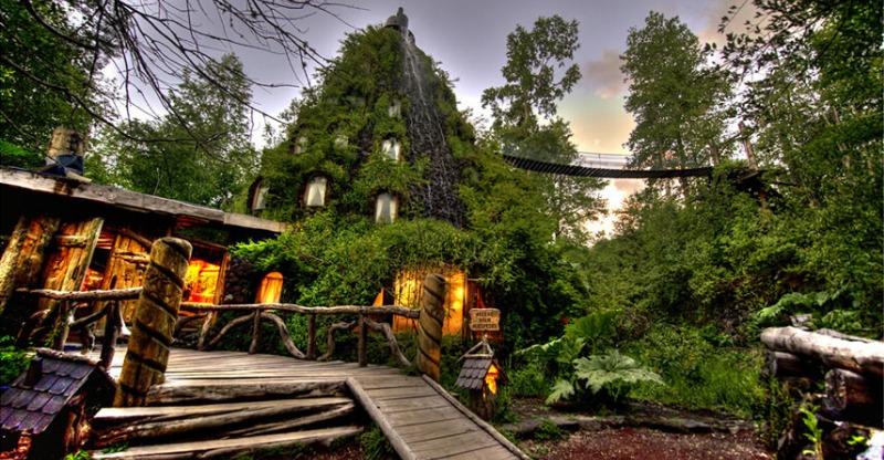 Magic Mountain Hotel landscape photo