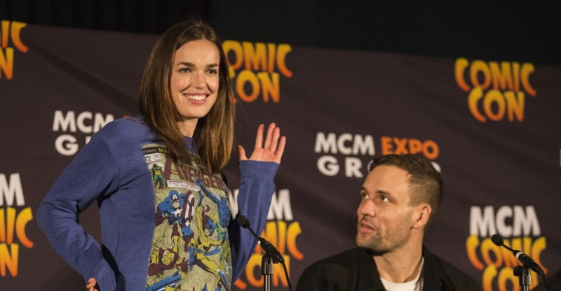 Elizabeht Henstridge at the MCM Comic Con, London