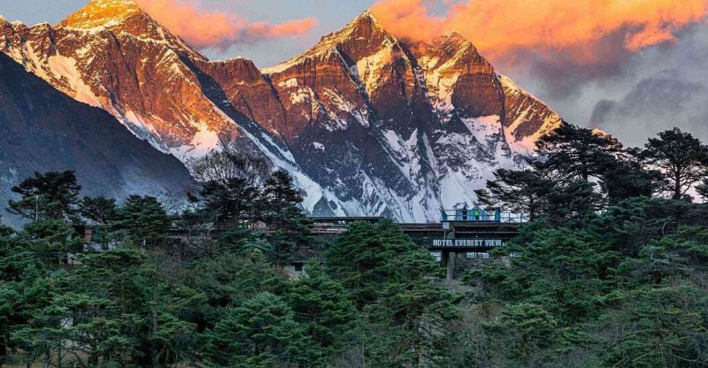 Breathtaking Hotel Everest View