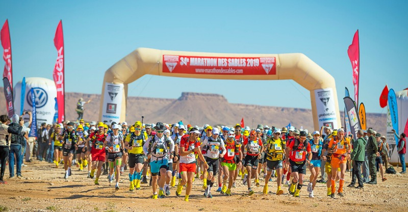 Start line of the Marathon des Sables