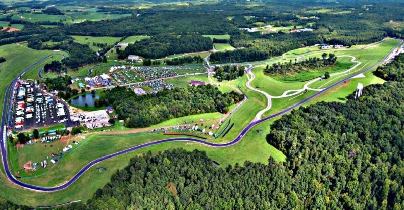 Virginia international raceway aerial view