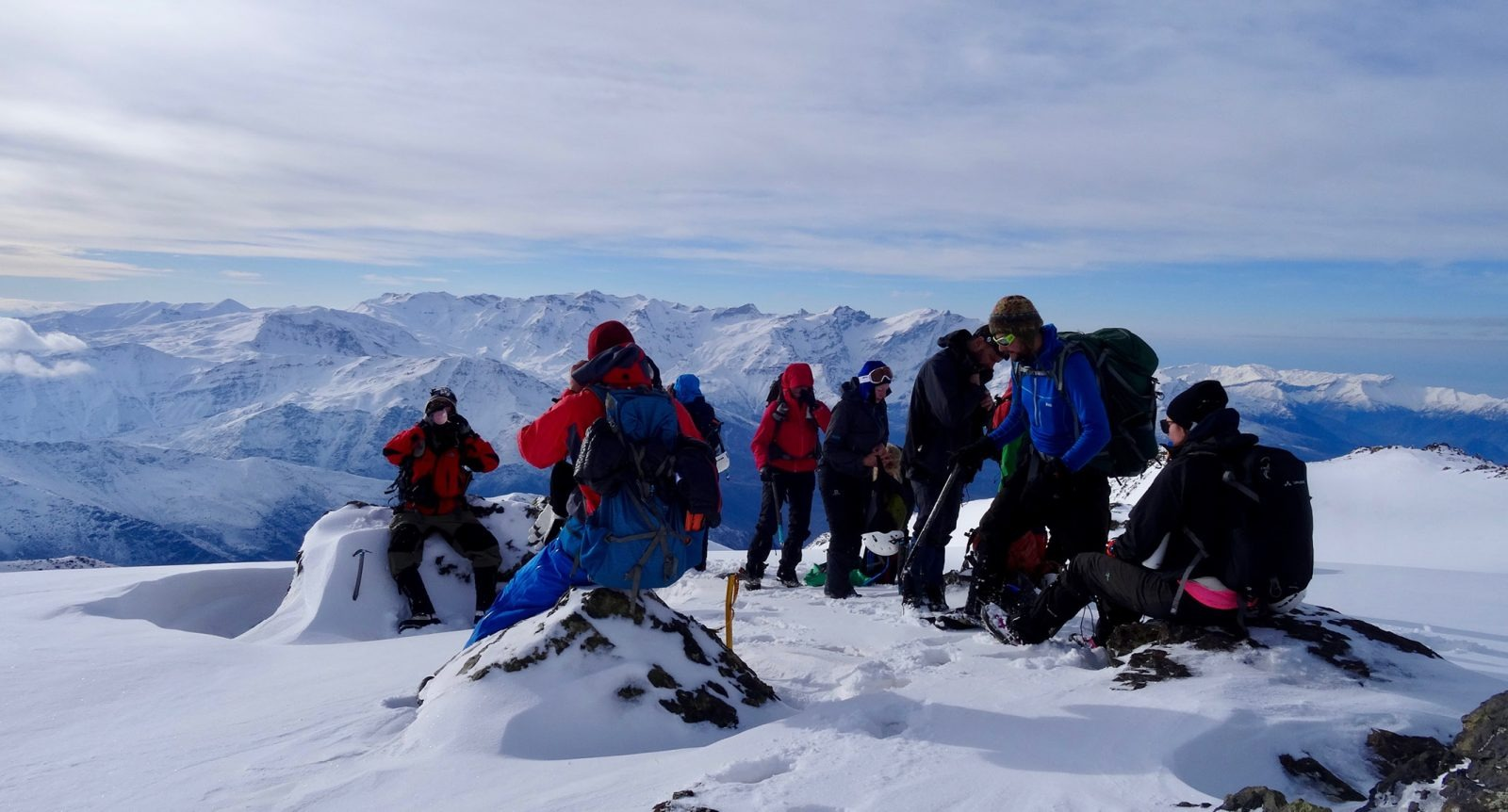 Summit success on the Iraq Zagros Mountains Expedition