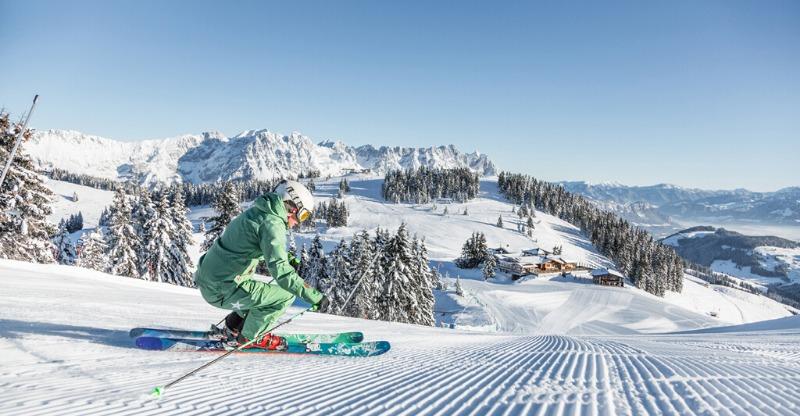 Skiing in Tyrol Austria