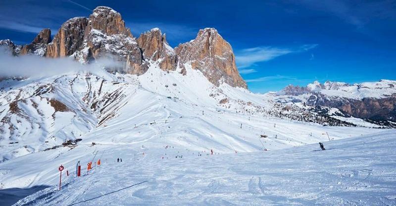 Ski the Dolomite Mountains