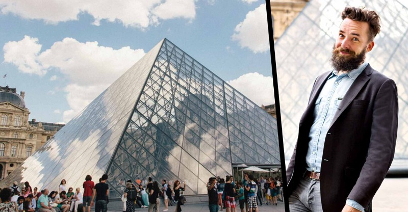 Laugh your way through the Louvre