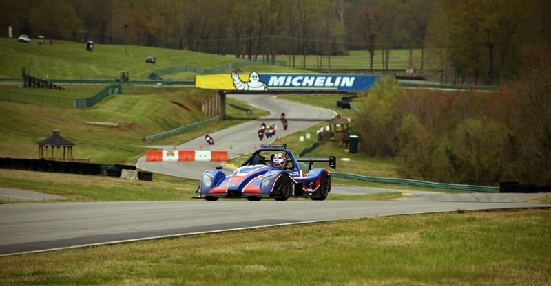 Ultimate race car driving experience in the US