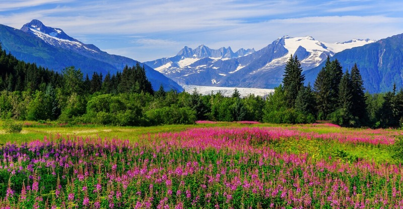 Stunning wilderness and serenity in Alaska
