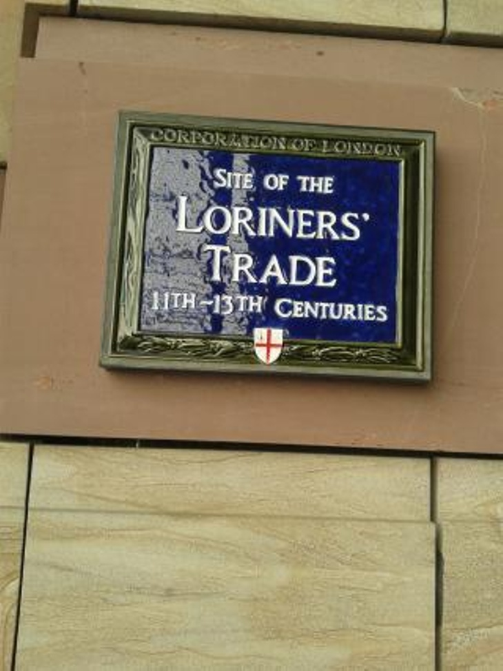 Loriners' Trade Sign