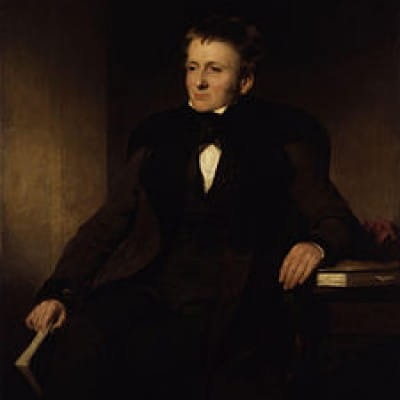 An opium eater, and a ceramic sensation (Thomas de Quincey, by Sir John Gordon Watson (National Portrait Gallery))