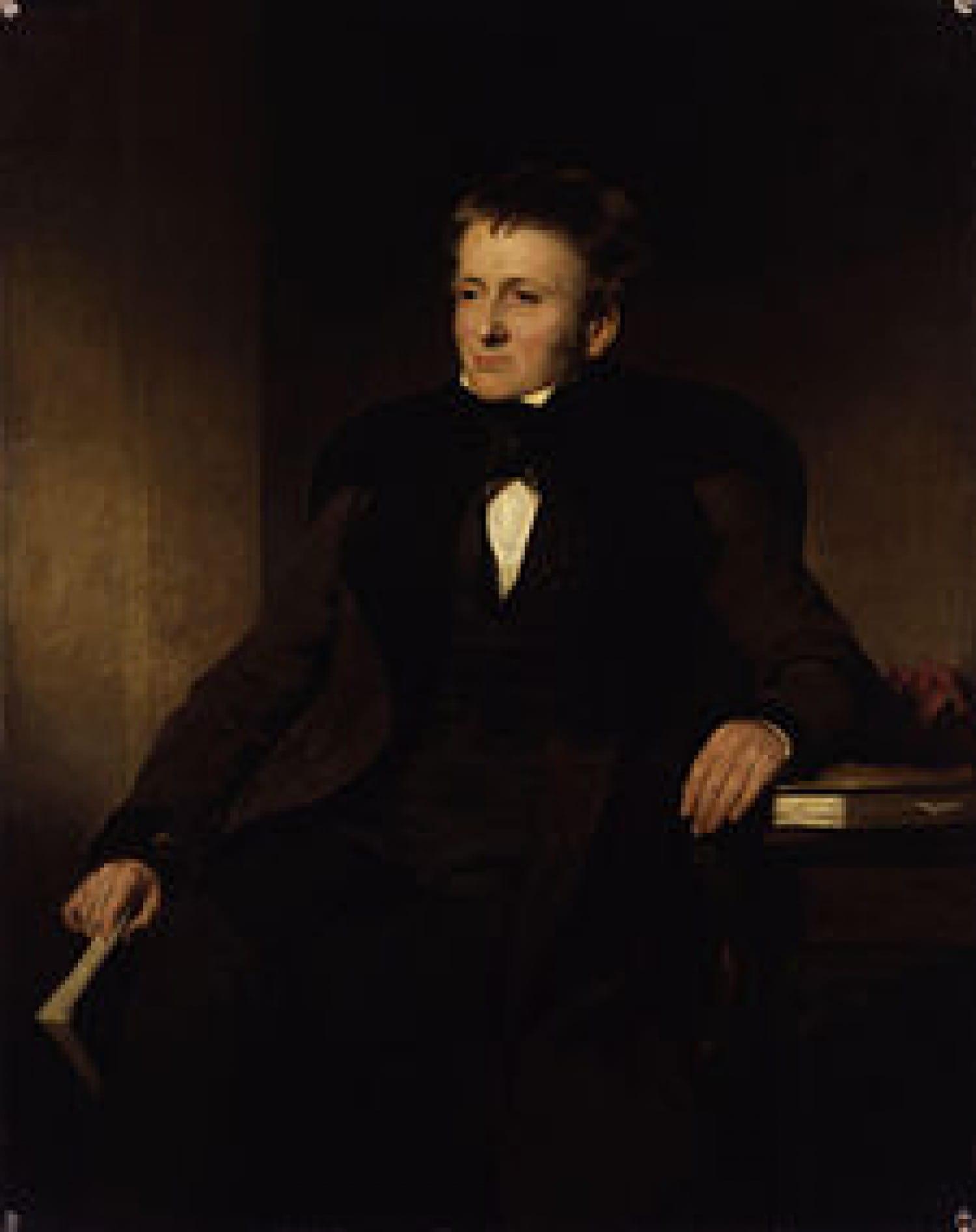 Thomas de Quincey, by Sir John Gordon Watson (National Portrait Gallery)