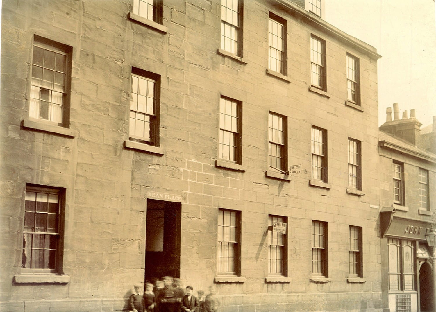 De Quincey's digs on Rottenrow (Glasgow Museums)
