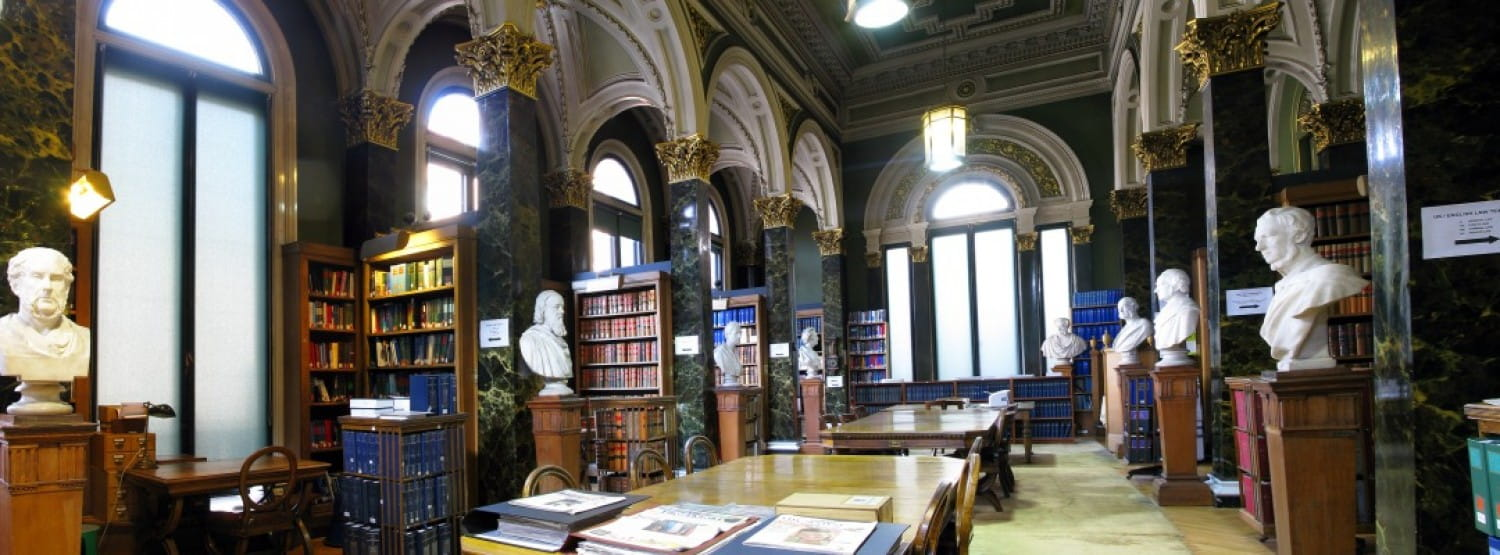 The Main Library - one of the most exquisite halls in the West of Scotland. Picture Royal Faculty of Procurators in Glasgow