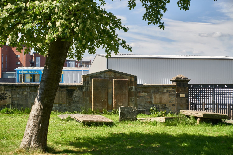 Monument to the Calton Weavers. toshiepix