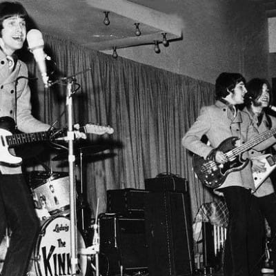 Thank you for the days... (The Kinks in action at the Kelvin Hall)