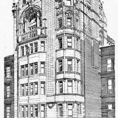 Same world, different planet... (John Archibald Campbell's Britannia Assurance Building (Picture: http://archiseek.com/))
