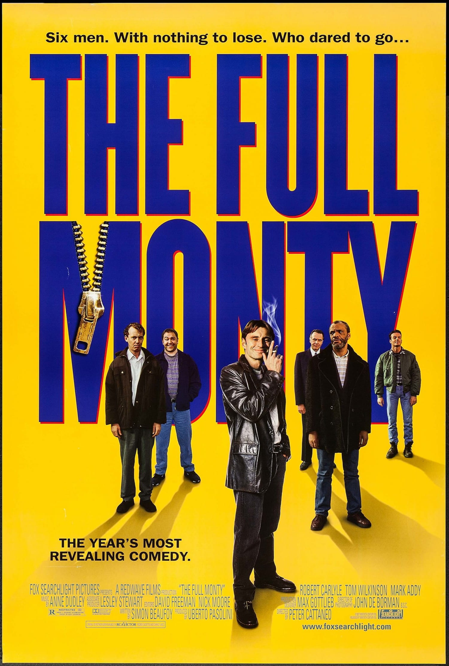 Robert Carlyle and the Full Monty