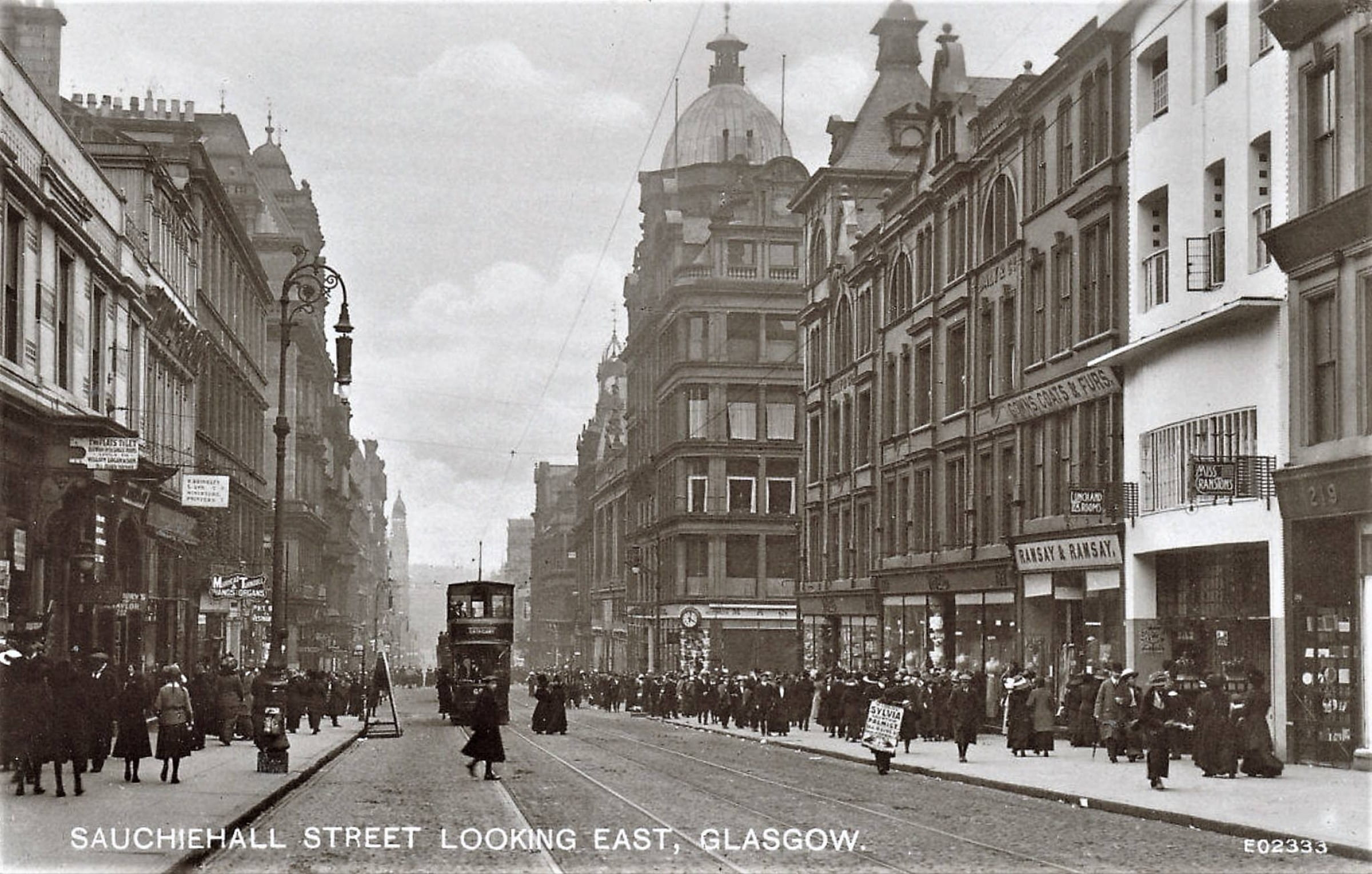More tea and sympathy (The Willow Tea Rooms, Sauchiehall Street, c. 1908 (Postcard))