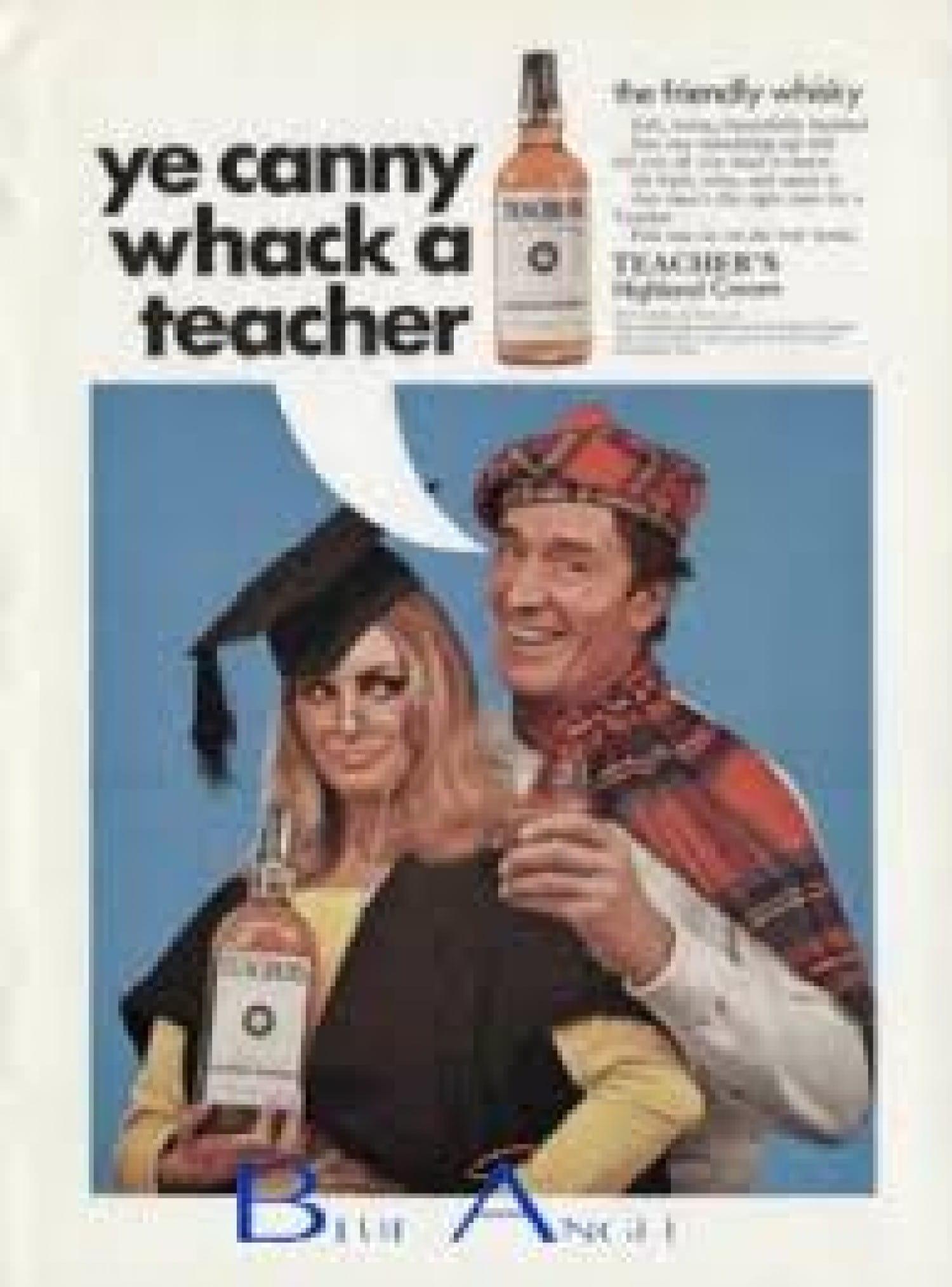 Ye Canny Whack a Teacher!