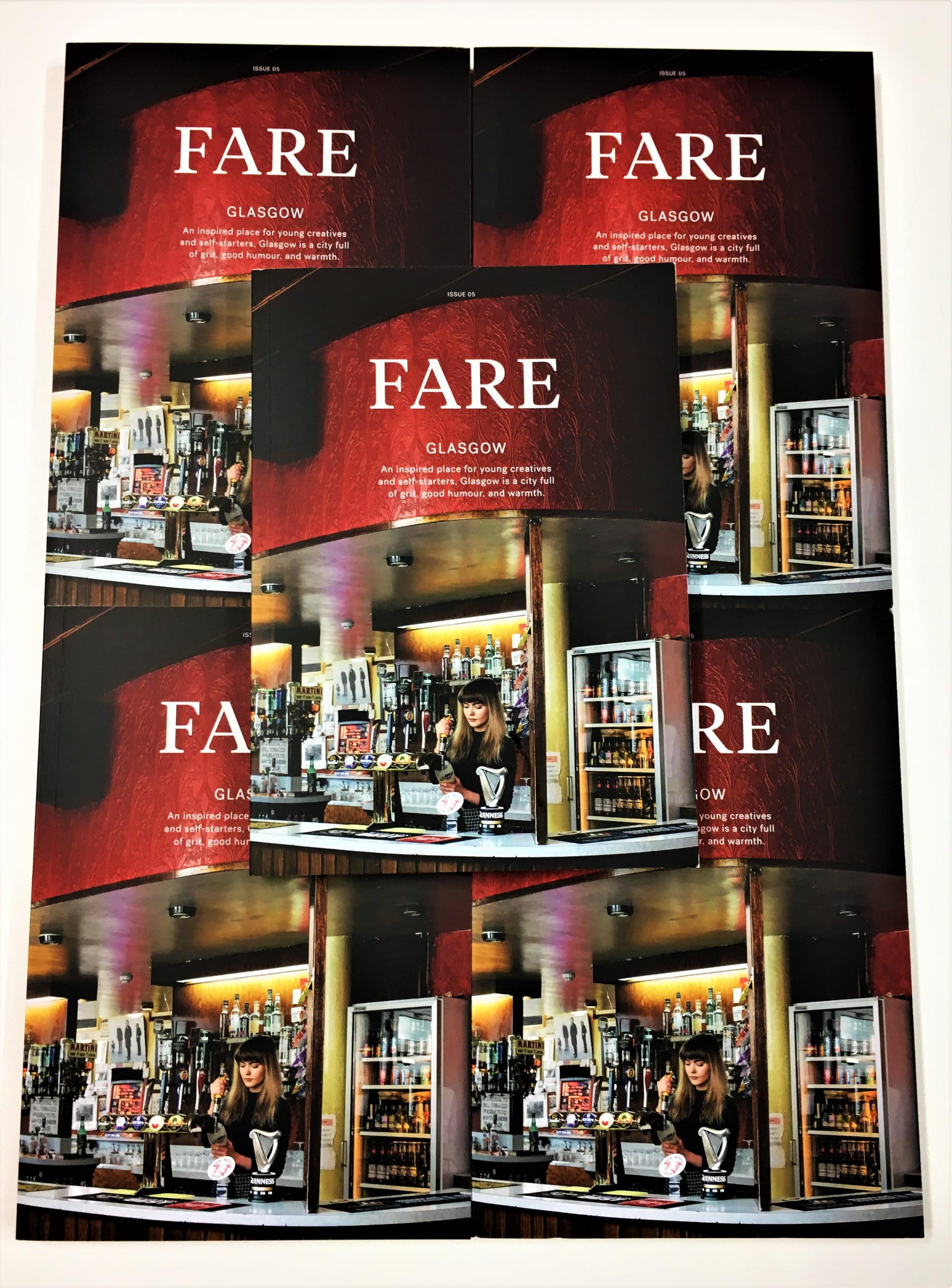 In Glasgow's Fare city... (Fare magazine turns its focus on Glasgow)