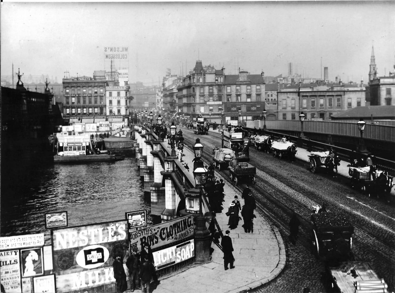 Glasgow/Jamaica Bridge in 1896 Picture: www.annanphotographs.co.uk