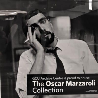 We're up for an Oscar (The man with the magic eye - Oscar Marzaroli)