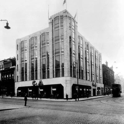 All change at C&A (The C&A store in the early 1930s (Herald and Times Group))