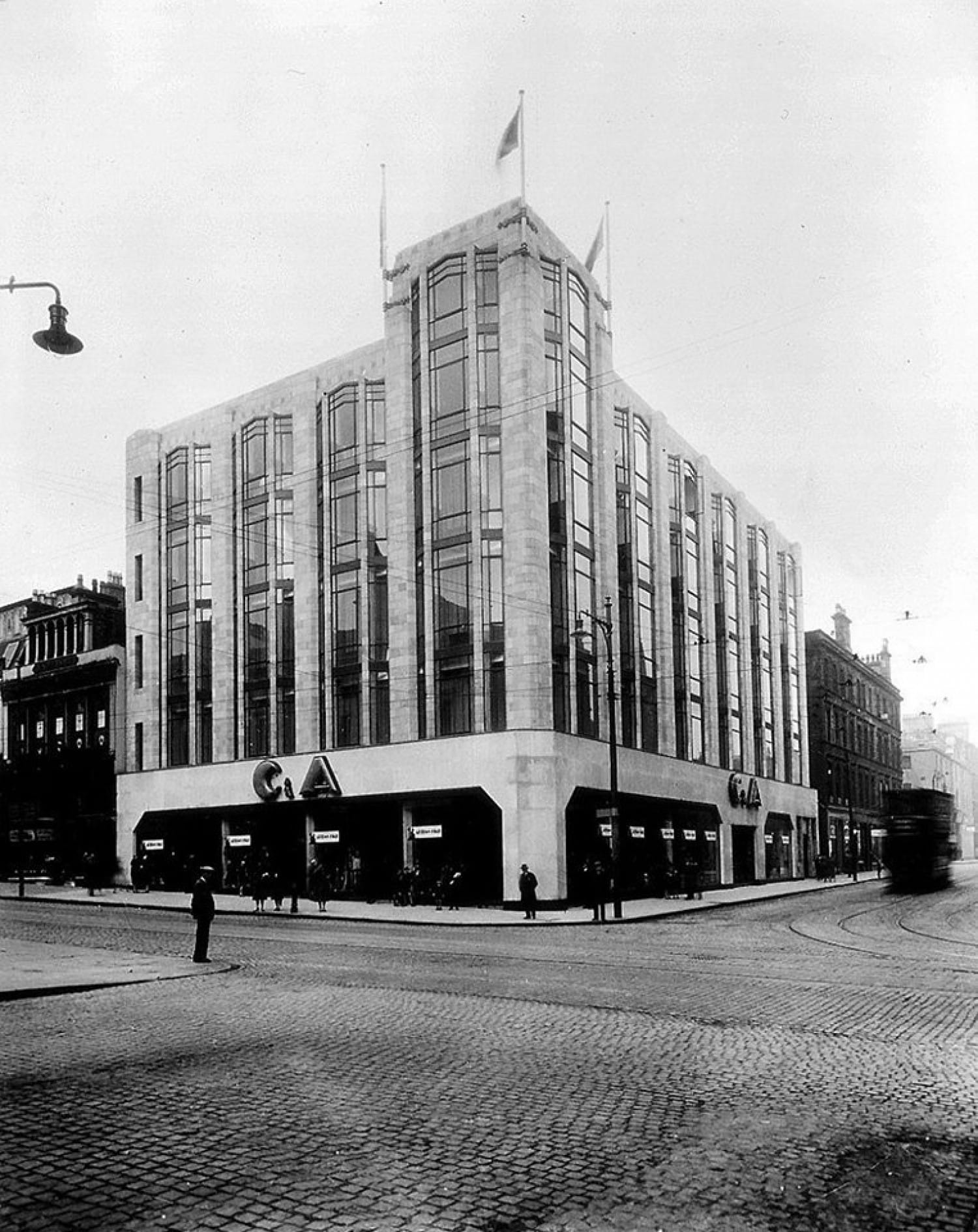 The C&A store in the early 1930s (Herald and Times Group)
