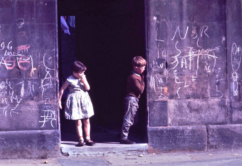 Gorbals children, 1964