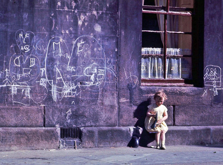 Gorbals girl, 1964