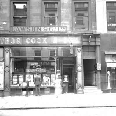 Thomas Cook(ed) the books (Thomas Cook, Buchanan Street, 1938 (Glasgow City Archives))