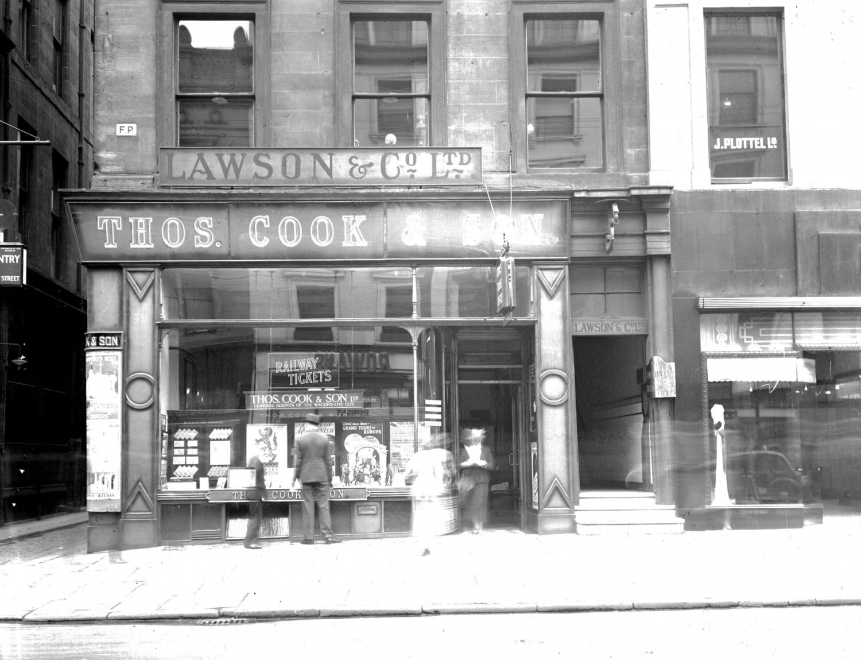 Thomas Cook, Buchanan Street, 1938 (Glasgow City Archives)