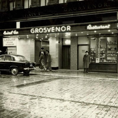 The Grosvenor - Centre of Upmarket Nightlife in Glasgow (Herald and Times Group)
