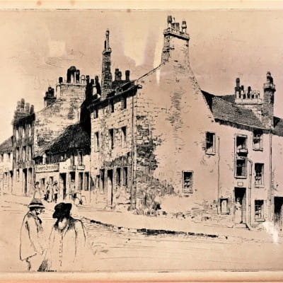 Etched in the memory (Taylor Street, Townhead, 1891, by David Young Cameron)