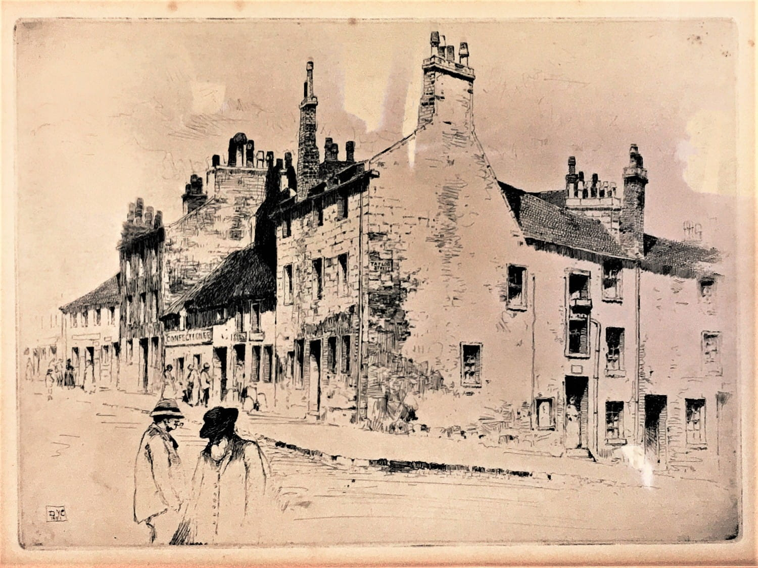 Taylor Street, Townhead, 1891, by David Young Cameron