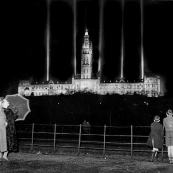 The light of learning (Glasgow Uni celebrates its 500th birthday, 1951 (Newsquest Media Group))
