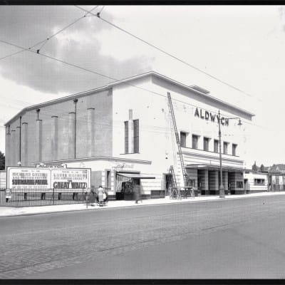 Lights. Cameras. Action! (The Aldwych Cinema, Paisley Road West, Cardonald c. 1938)
