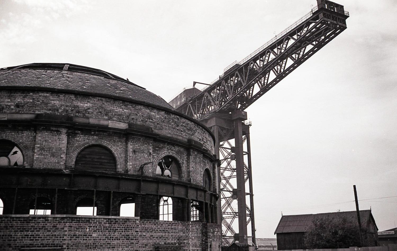 The North Rotunda and the Finnieston Crane