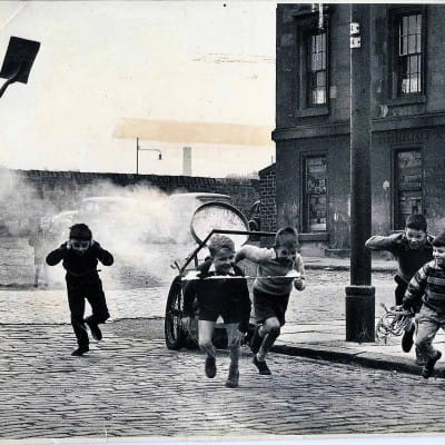 Banger boys (Banger Boys, by Stewart Fair, for the Evening Citizen)