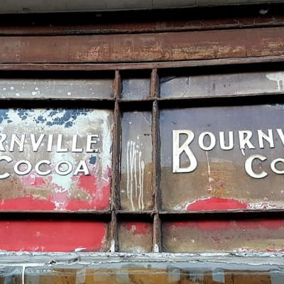 I should cocoa! (The ghost sign uncovered in Dumbarton Road)