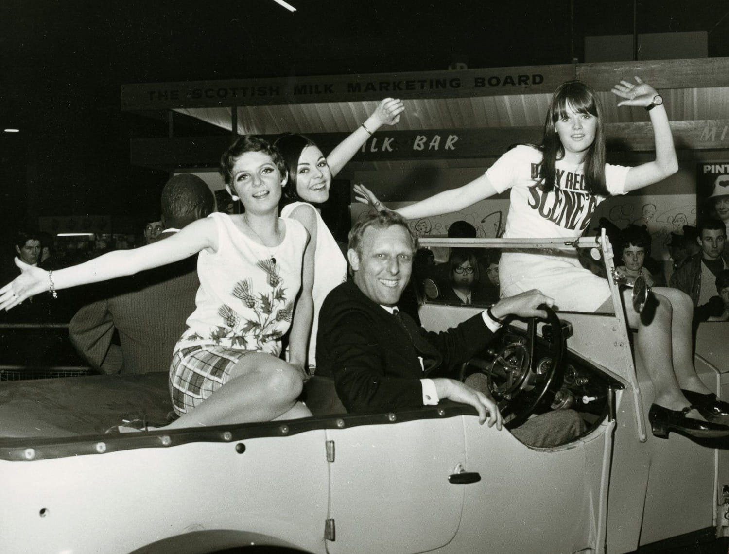 DJ Don Moss picks up some hitchhikers