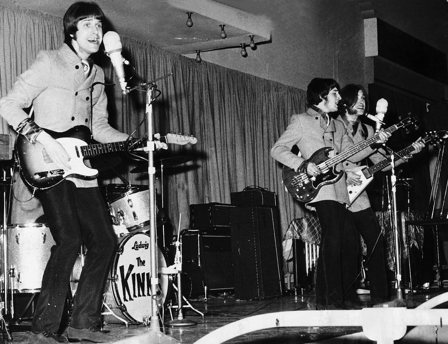 All Day, and All of the Night. The Kinks closed the show.