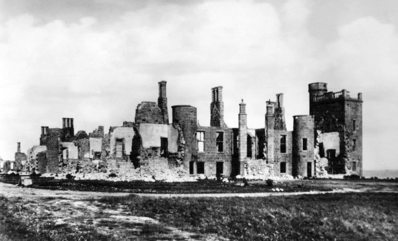 Slains Castle, near Cruden Bay